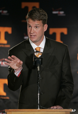 Tennessee Kiffin Football