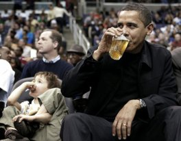 I dont always drink beer.  But when I do, I prefer the High Life (and a clueless little kid to bother me).