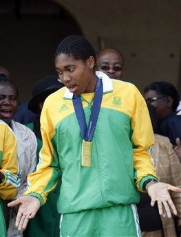SOUTH AFRICA SEMENYA'S RETURN