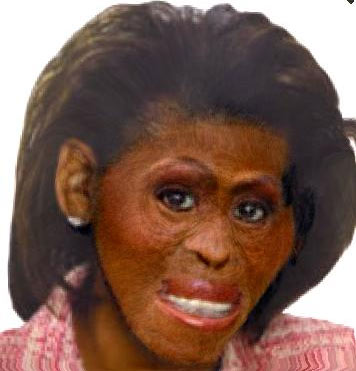 "michelle obama pictures monkey. MICHELLE OBAMA ""MONKEY PICTURE"